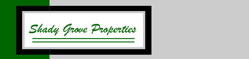 Shady Grove Property Rental Properties in Lansing, LaPorte City, and Reinbeck Iowa